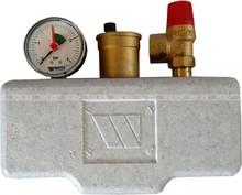 """Группа безопасности Watts KSG 1"""" 30/ISO 2, клапан SV 3/4"""" до 100 кВт"""