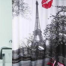Штора для ванной Dasch 180х200 Поцелуй