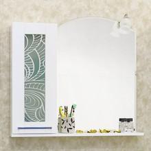 Зеркало-шкаф Sanflor Валлетта 80 зеркальный узор L