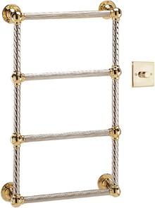 Полотенцесушитель электрический Vogue Colonnade CL004A E 775x475/AC012 75-400W Antique Gold с регулятором напряжения