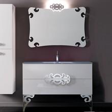 Мебель для ванной Eurolegno Glamour 120 белая
