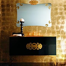 Мебель для ванной Eurolegno Glamour 120 черная
