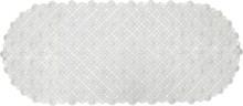 Коврик Bella кружевной 88х38 прозрачный