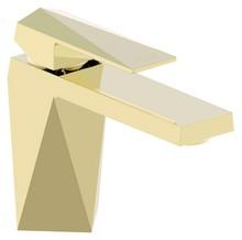 Смеситель Bravat Iceberg F176110G для раковины золото
