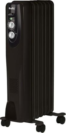 Масляный радиатор Ballu Classic Black BOH/CL-07BRN 7 секций