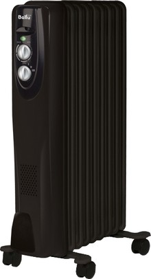 Масляный радиатор Ballu Classic Black BOH/CL-09BRN 9 секций