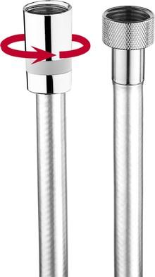 Душевой шланг Bossini Cromolux A00167C 150 см, хром