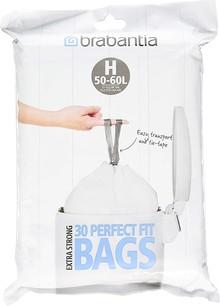 Мешки для мусора Brabantia 375705 40/50 л в диспенсере