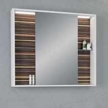 Зеркало-шкаф Edelform Belle 100 макассар, с подсветкой
