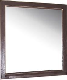Зеркало ASB-Woodline Бергамо 85 орех с золотой патиной