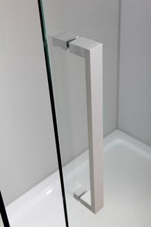 Душевой уголок Berges Wasserhaus Gelios 120х80 061001 профиль Хром стекло прозрачное