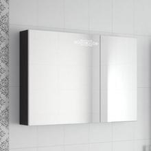 Зеркало-шкаф Ingenium Accord 90 черный глянец