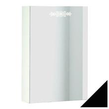 Зеркало-шкаф Ingenium Accord 50 черный глянец R