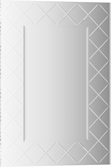 Зеркало Evoform Florentina BY 5001 50x70 см с гравировкой