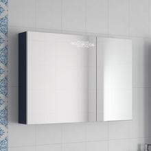 Зеркало-шкаф Ingenium Accord 90 синий глянец
