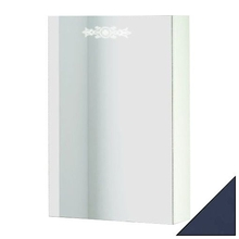 Зеркало-шкаф Ingenium Accord 50 синий глянец L