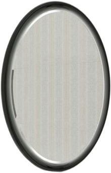 Зеркало Ingenium Fusion 70 черный глянец