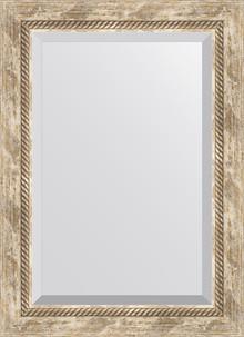 Зеркало Evoform Exclusive BY 3381 53x73 см прованс с плетением