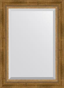 Зеркало Evoform Exclusive BY 3380 53x73 см состаренная бронза с плетением