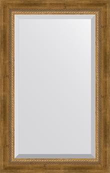 Зеркало Evoform Exclusive BY 3406 53x83 см состаренная бронза с плетением