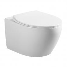 Унитаз подвесной Ceramica Nova Pearl Rimless CN8001 с микролифтом, безободковый