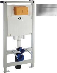 Система инсталляции для унитазов OLI Oli 80 с кнопкой смыва Slim