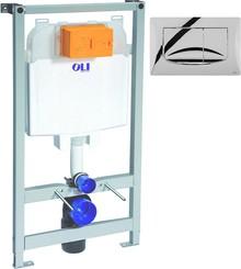 Система инсталляции для унитазов OLI Oli 74 с кнопкой смыва River Dual 09262 OLM