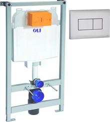 Система инсталляции для унитазов OLI Oli 74 с кнопкой смыва Karisma