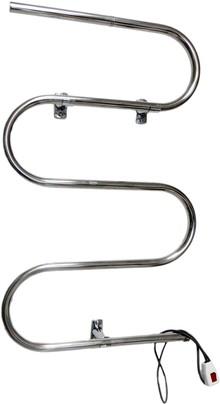 Полотенцесушитель электрический Domoterm Е-образный DMT 103-25 50x81, R