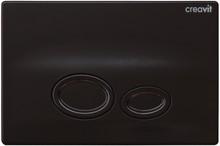 Кнопка смыва Creavit Drop GP2002.02 черный глянцевый