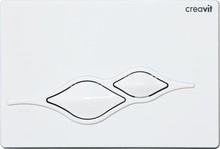 Кнопка смыва Creavit Ufo GP1001.00 белая