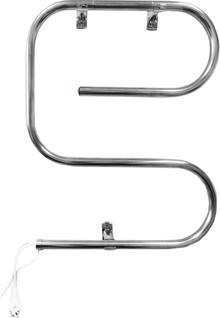 Полотенцесушитель электрический Domoterm Е-образный DMT 105-25 50*65 EK L