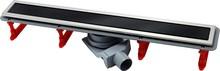 Душевой лоток Pestan Confluo Premium Line 850 черное стекло/сталь