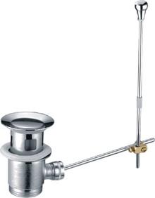 Донный клапан для раковины Creavit SF011 с переливом, хром