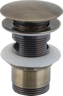 Донный клапан для раковины 1 Orange X1-004br бронза