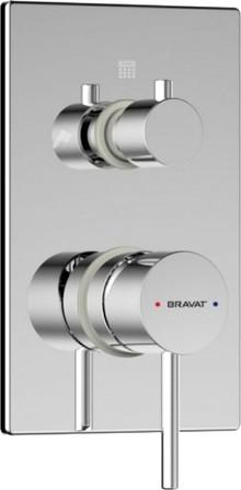 Смеситель Bravat Arc P69193C-2-ENG для ванны с душем