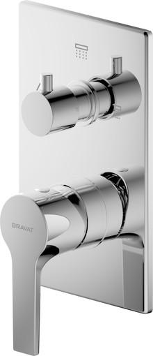 Смеситель Bravat Prolate P69218CP-3-ENG для ванны с душем