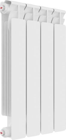 Радиатор биметаллический Rifar Alp Ventil 500 4 секции, нижнее подключение левое