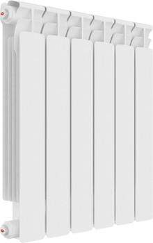Радиатор биметаллический Rifar Alp Ventil 500 6 секций, нижнее подключение левое