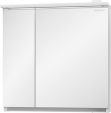 Зеркало-шкаф Edelform Amata 80 с подсветкой