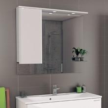 Зеркало-шкаф Edelform Amata 100 с подсветкой