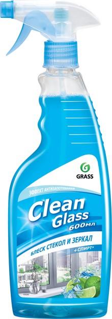 Очиститель для стекол Grass Clean Glass голубая лагуна, 600 мл