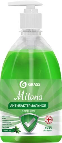 Жидкое мыло Grass Milana антибактериальное, Green Tea, 500 мл