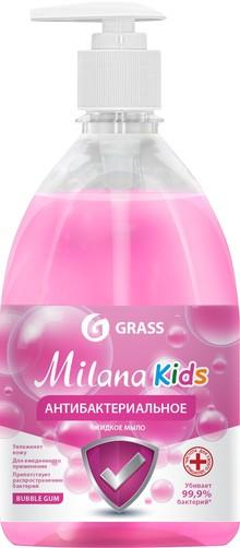 Жидкое мыло Grass Milana антибактериальное, BubbleGum, 500 мл