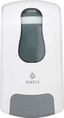 Диспенсер для мыла Binele mBase DE02BW для картриджей с пенным мылом