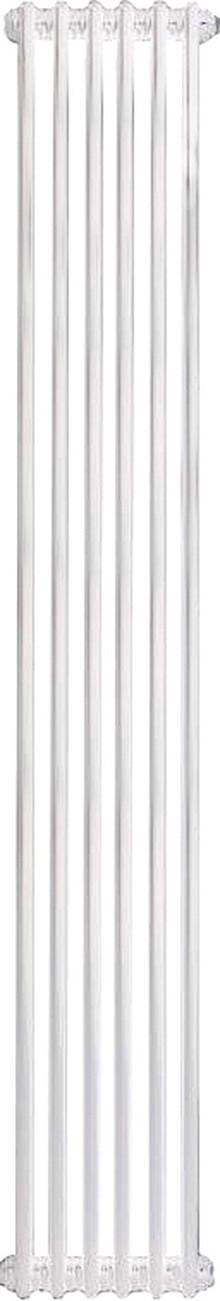 Радиатор стальной Zehnder Charleston Completto 2180/06 2-трубчатый, нижнее подключение со встроенным вентилем