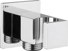Шланговое подключение Webert Comfort AC0354015 с держателем для душа, хром