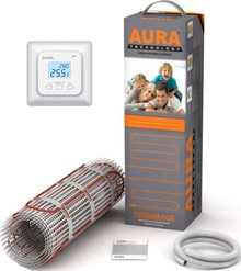 Теплый пол Aura Technology MTA 75-0,5 с терморегулятором