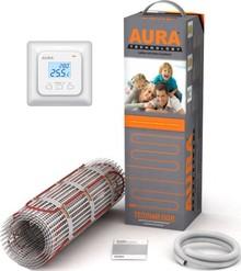 Теплый пол Aura Technology MTA 150-1,0 с терморегулятором