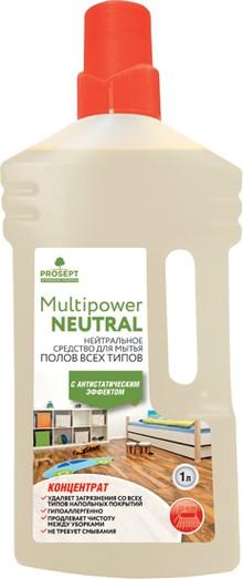 Средство для мытья пола Prosept Multipower Neutral 1 л
